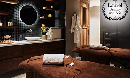 90-Min Pamper Package for One ($99) or Two People ($195) at Laurel Beauty and Spa (Up to $450 Value)