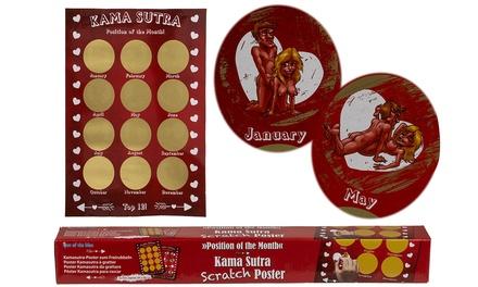 Calendario Kamasutra da grattare