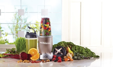 Nutri Bullet Pro 900 Series (Nine Piece Set) for AED 479 With Free Delivery