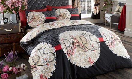 Clearance Reversible Duvet Cover Set in Choice of Design
