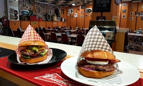 Menú para dos personas con entrante, principal y bebida con opción a postre desde 18 € en Jack Bull