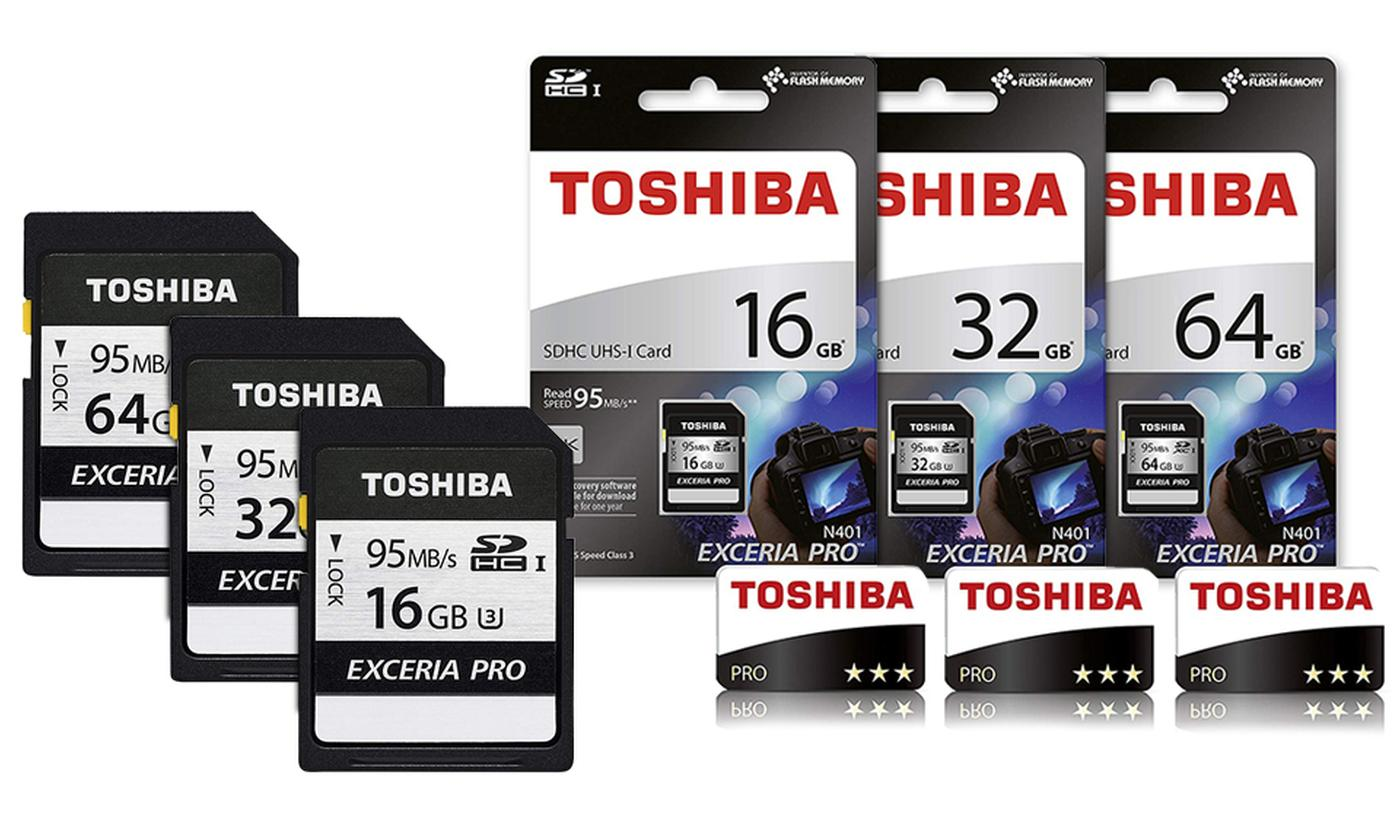 Toshiba Exceria Pro N401 SD Memory Card