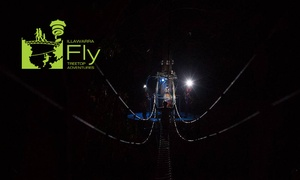 Illawarra Fly Treetop Adventure: Illawarra Fly: After-Dark Zipline Tour + Meal - Child ($40) or Adult ($65), Knights Hill (Up to $100 Value)