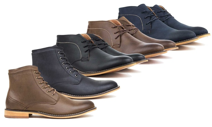 Harrison Men's Dress Boots | Groupon