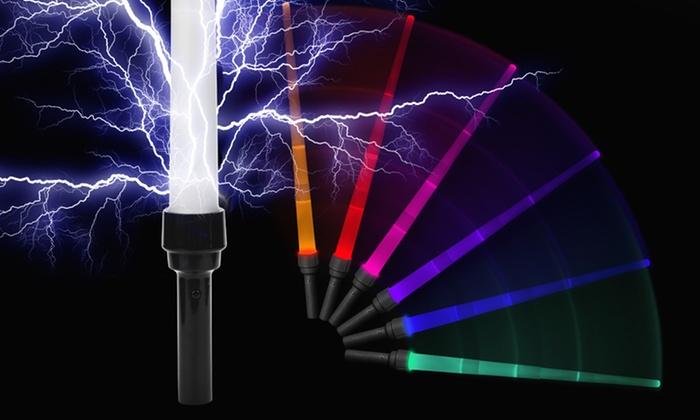 2-Pack of LED Laser Swords: 2-Pack of LED Laser Swords. Free Returns.
