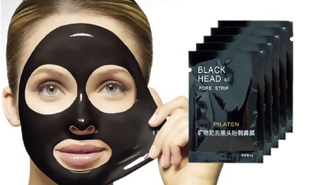 5, 10, 20 ou 30 masques peeloff au carbone, antipoints noirs