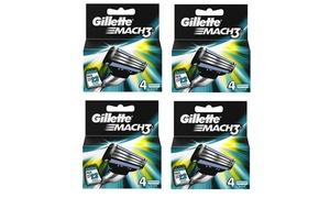 4 lames rasoir Gillette Mach3
