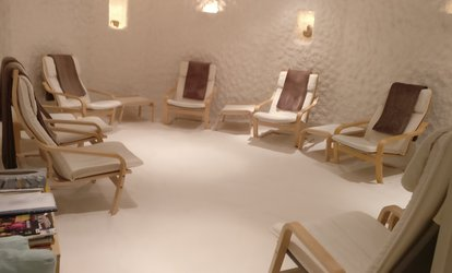 image for One or Two Sessions at Salt Cave, Edinburgh (66% Off)