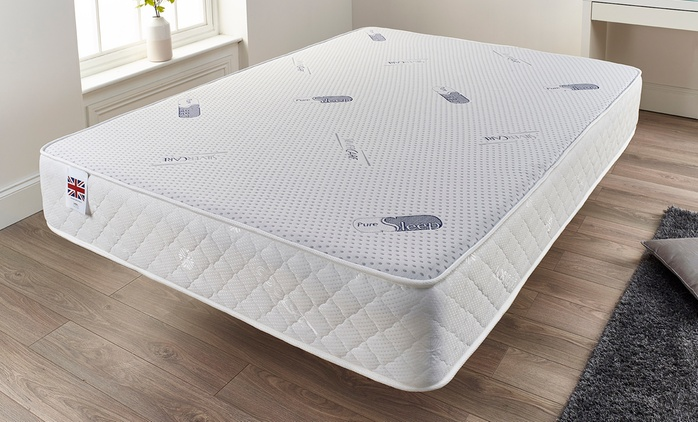 Pure Care German Coil and Memory Foam Mattress from £84.98 With Free Delivery