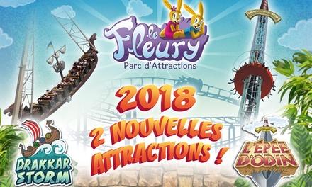 2 entrées pour enfant/adulte ou 1 pass Happy Family avec 4 entrées enfant/adulte dès 15 € pour le Parc Le Fleury