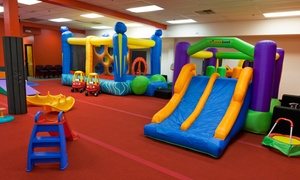 Super Happy Fun Time Play Gym: Open-Play Sessions, Classes, or Party at Super Happy Fun Time Play Gym (Up to 58% Off). Four Options Available.