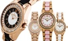 Charles Latour Voluta Women's Mother of Pearl Dial Watch