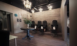 49% Off Mani-Pedi at Concrete Blonde hair.body at Concrete Blonde hair.body, plus 9.0% Cash Back from Ebates.