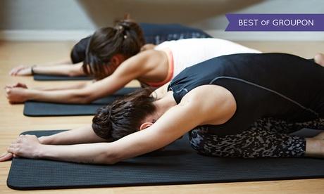 4 o 12 clases de pilates,yoga o pilates para embarazadas en suelodesde 9,90 € en Zensya Oferta en Groupon