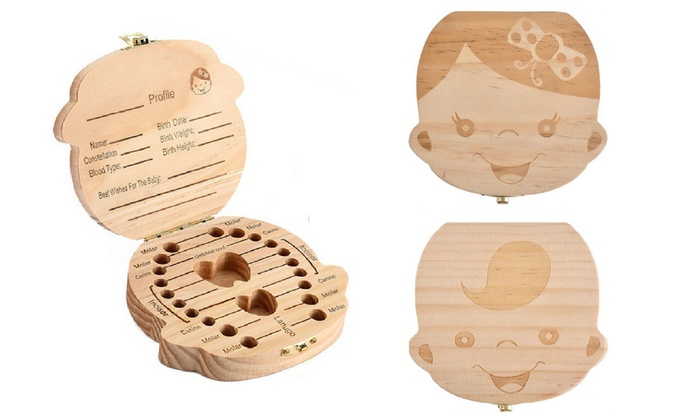 One or Two Baby Tooth Keepsake Boxes