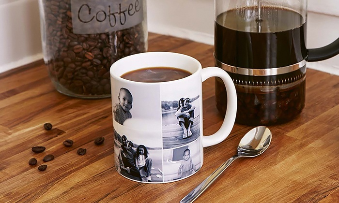 collage.com: Custom Coffee Mugs & Magic Mugs  (Up to 79% Off).