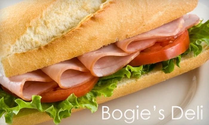 Bogie's Deli - Sea Isle Park Neighborhood Association: $7 for $15 Worth of Deli Fare at Bogie's Deli