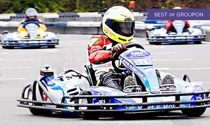 Ralf Schumacher Kartcenter: 3 Einzelfahrten à 10 Minuten inklusive Leih-Helm auf der Kartbahn im Ralf Schumacher Kartcenter (33% sparen*)