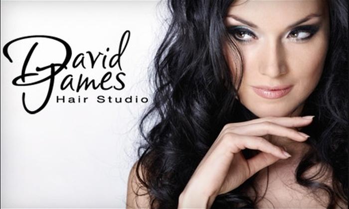 David James Hair Studio - Littleton: $50 for $100 Toward Services at David James Hair Studio