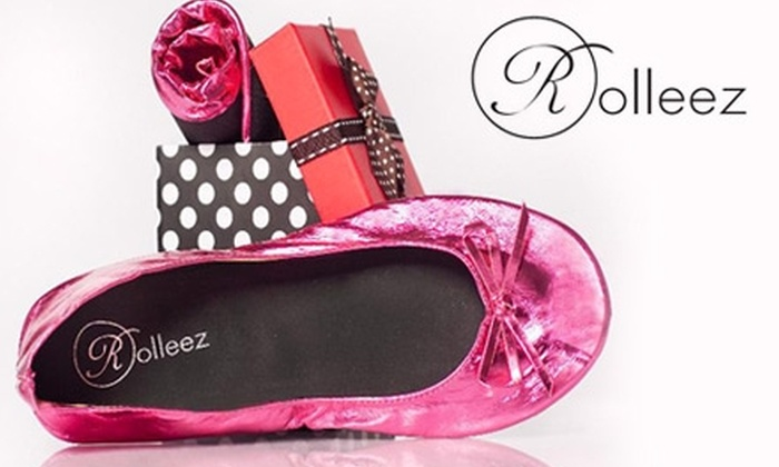 3 Sekonds - Los Angeles: $8 for One Pair of Rollable-Flats Shoes from 3 Sekonds Inc. ($20 Value)