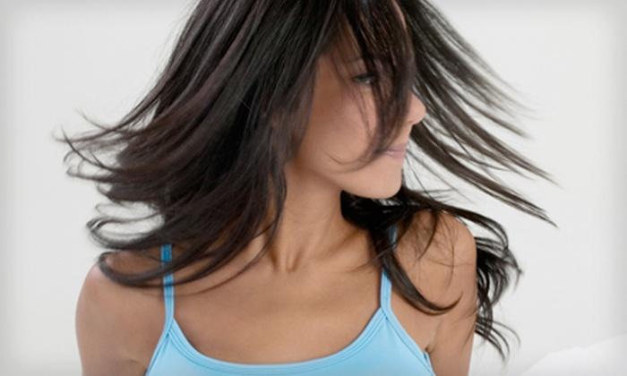 Cloud 9 Hair Design - Midtown-Central Neighborhood Association: $60 for Women's Haircut and Partial Highlights at Cloud 9 Hair Design ($120 Value)