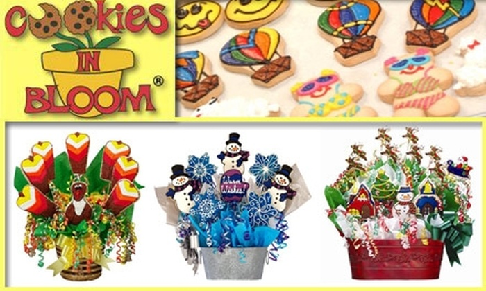 Cookies in Bloom  - Miami: $30 for $60 Worth of Delicious Gourmet Cookies from Cookies in Bloom