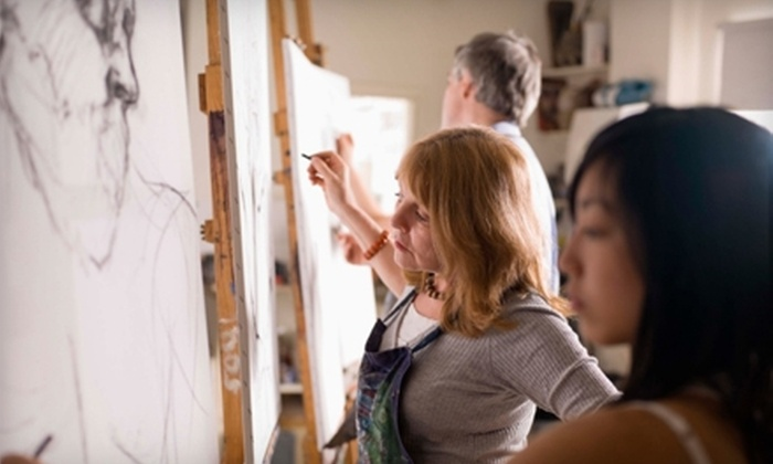 Fine Arts Connection - Maryville: $12 for Drawing Class ($24 Value) or $15 for Chinese Brush Painting Class ($30 Value) at Fine Arts Connection in Maryville