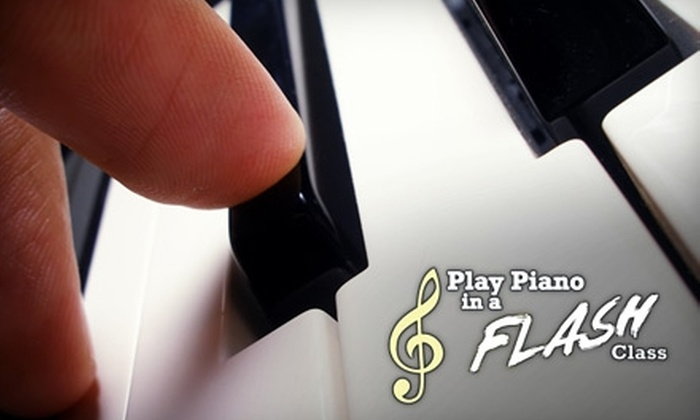 Play Piano in a Flash - Little Rock: $70 for Eight Group Lessons and Materials at Play Piano in a Flash ($199 Value)