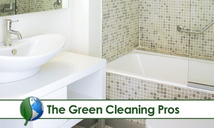 The Green Cleaning Pros - Jacksonville: $49 Kitchen and Two-Bathroom Cleaning from The Green Cleaning Pros (Up to $165 Value)