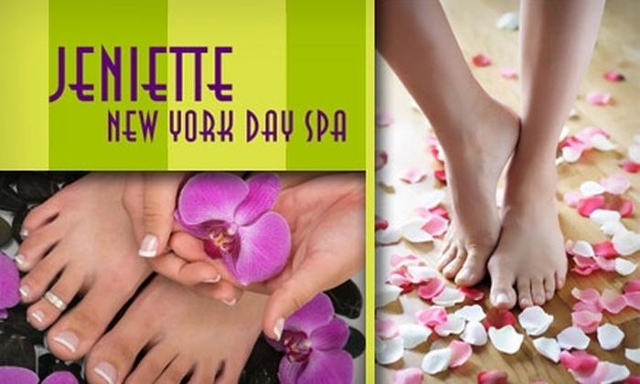 Jeniette Day Spa - Greenwich Village: $30 for a Spa Manicure and Total Indulge Pedicure at Jeniette Day Spa ($60 Value)