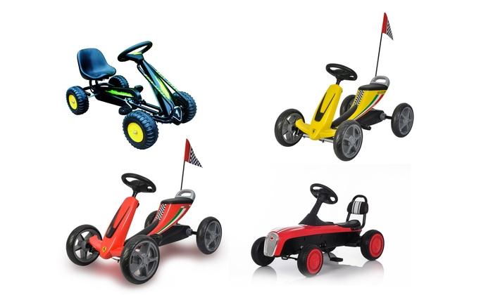 TitoloMacchine a pedali per bambini disponibili in vari modelli e colori
