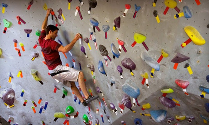 Vital Climbing Gym - Multiple Locations: 10-Visit Punch Card, One-Month Membership with ID card, or Two-Month Membership with ID card at Vital Climbing Gym (Up to 55% Off)