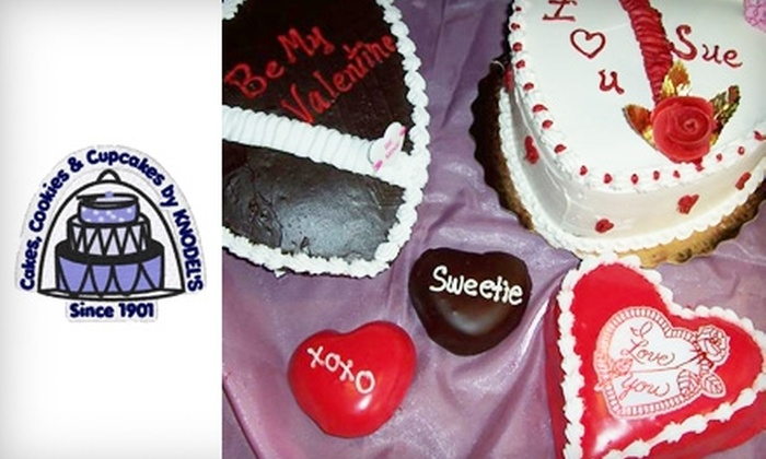 Knodel's Bakery - Multiple Locations: $15 for $30 Worth of Cupcakes, Cakes, and Cookies at Knodel's Bakery