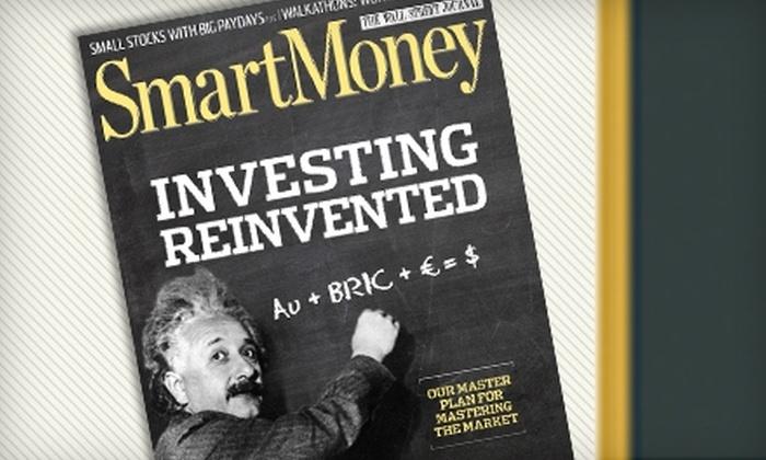 "SmartMoney - Albion: $5 for 13 Issues of ""SmartMoney"" Magazine ($10.83 Value)"