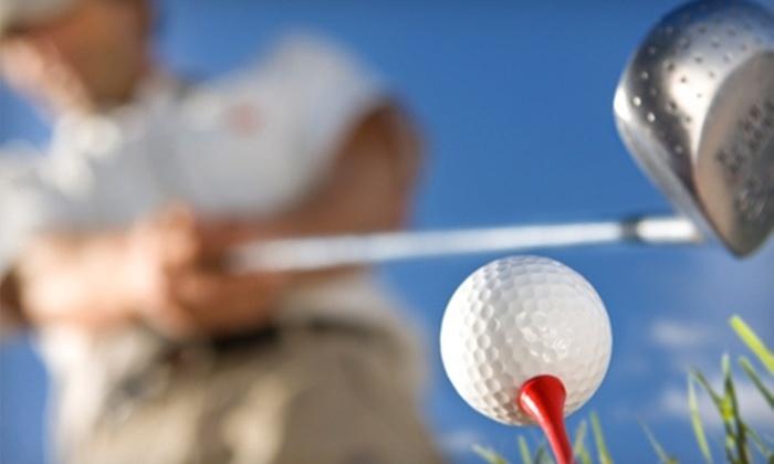 Dietz Creek Golf Range - Williamston: $10 for $40 Worth of Range Balls, Snacks, and Lessons at Dietz Creek Golf Range