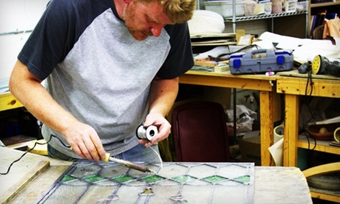 Dakota Stained Glass - Sioux Falls: $12 for Fused-Glass-Jewelry Class at Dakota Stained Glass ($25 Value)