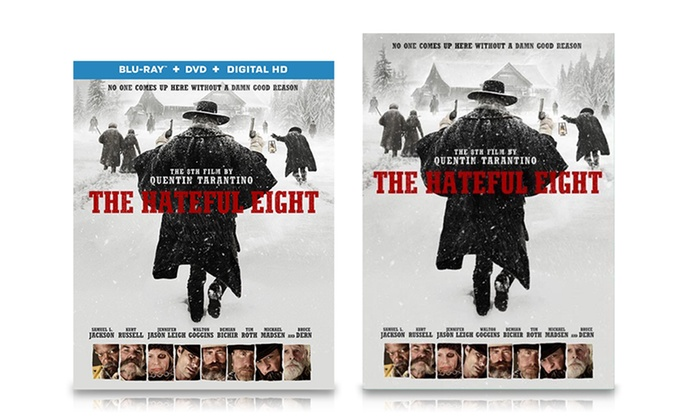 Pre-Order: The Hateful Eight on DVD or Blu-ray: Pre-Order: The Hateful Eight on DVD or Blu-ray
