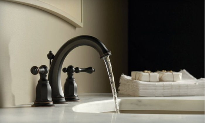 The Somerville Showroom - Multiple Locations: Kitchen and Bathroom Design Products at The Somerville Showroom (Up to 60% Off). Three Options Available.