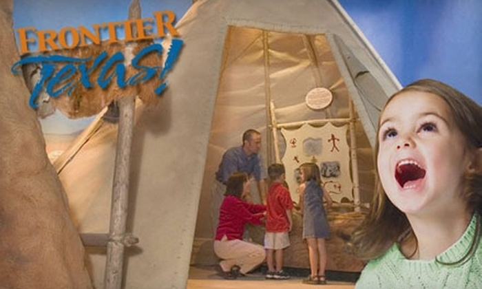 Frontier Texas! - Original Town North: $40 for a One-Year Family Membership (Up to $80 Value) or $20 for a One-Year Individual Membership (Up to $40 Value) at Frontier Texas!