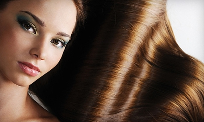 Cabella Salon - Beltline: $40 for Women's Haircut, Deep Conditioning, Blow-Dry Lesson, and Paraffin Hand Treatment at Cabella Salon ($110 Value)