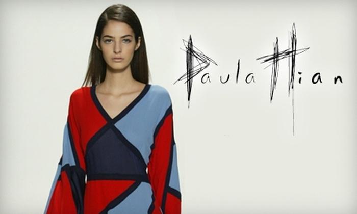 Paula Hian - Manayunk: $99 for $225 Worth of Designer Apparel at Paula Hian