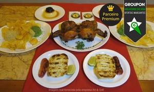 Art & Grill - Rio de Janeiro: Art & Grill – Centro: almoço com entrada, galeto com acompanhamentos e sobremesa para 2 pessoas