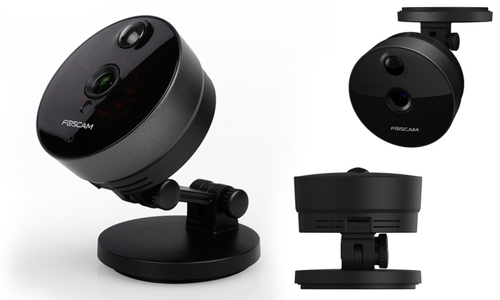 kabellose ip kamera foscam mini groupon. Black Bedroom Furniture Sets. Home Design Ideas