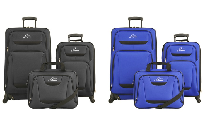 Closeout: Skyway Discovery Soft-Sided Luggage Set (3-Pieces)