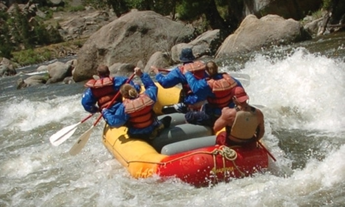 American Adventure Expeditions - Multiple Locations: $25 for $50 Toward Any Half-Day, Full-Day, Deluxe, or Overnight Rafting Tour from American Adventure Expeditions