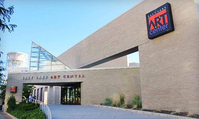 Salt Lake Art Center - Rio Grande: $15 for a One-Year Basic Membership to Salt Lake Art Center (Up to $40 Value)