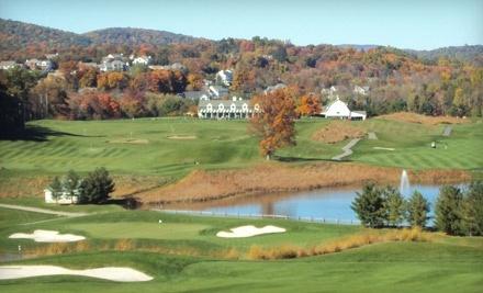 Centennial Golf Club: 18-Hole Round of Golf, Plus Cart Rental and Unlimited Range Balls, valid Mon. through Thurs. - Centennial Golf Club in Carmel