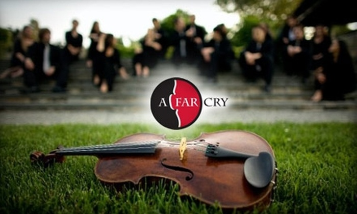 A Far Cry - Fenway/Kenmore: $11 for One Ticket to See A Far Cry ($25 Value). Buy Here to See the Performance on January 29 at 8 p.m. at Jordan Hall. See Below for Additional Performance Date.