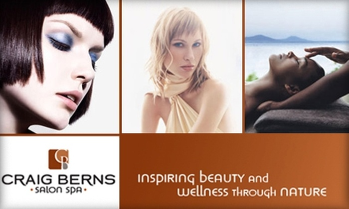 Craig Berns Salon Spa - Delafield: $30 for $75 Worth of Hair Services from Craig Berns Salon Spa