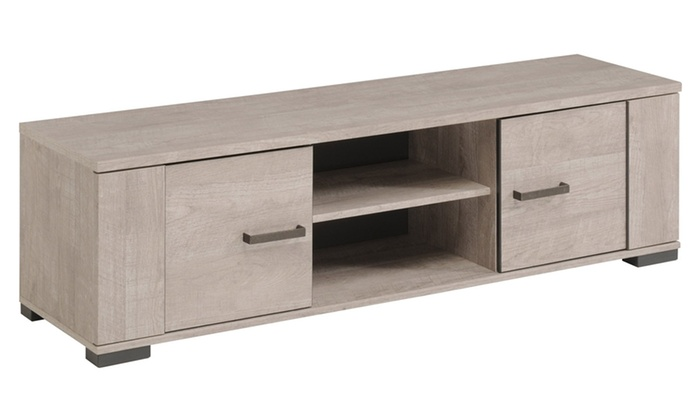 meuble tv et table basse cali groupon shopping. Black Bedroom Furniture Sets. Home Design Ideas